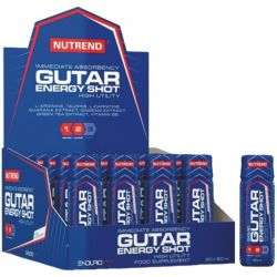 23.04.2018 - AKCE pro sportovce - Nutrend GUTAR ENERGY SHOT 20 x 60 ml - sada jen za 535 Kč ! - 216604 - Nutrend GUTAR ENERGY SHOT 60 ml