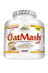 Amix Mr. Popper's Oat Mash 2000 g – příchuť jahoda & jogurt