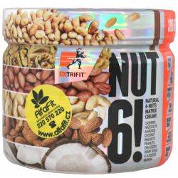 Extrifit Nut 6! 300 g ─ flavor double chocolate