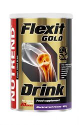Nutrend Flexit Gold Drink 400 g - flavor black currant