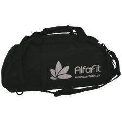 Malá sportovní taška Alfafit ─ černá