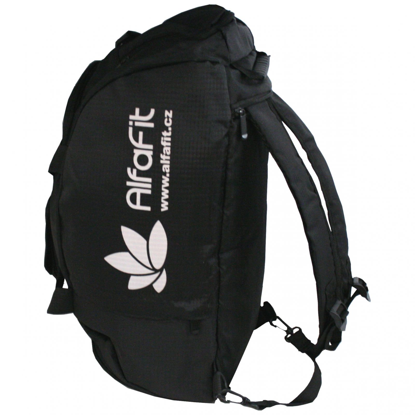 Malá sportovní taška Alfafit ─ černá 2