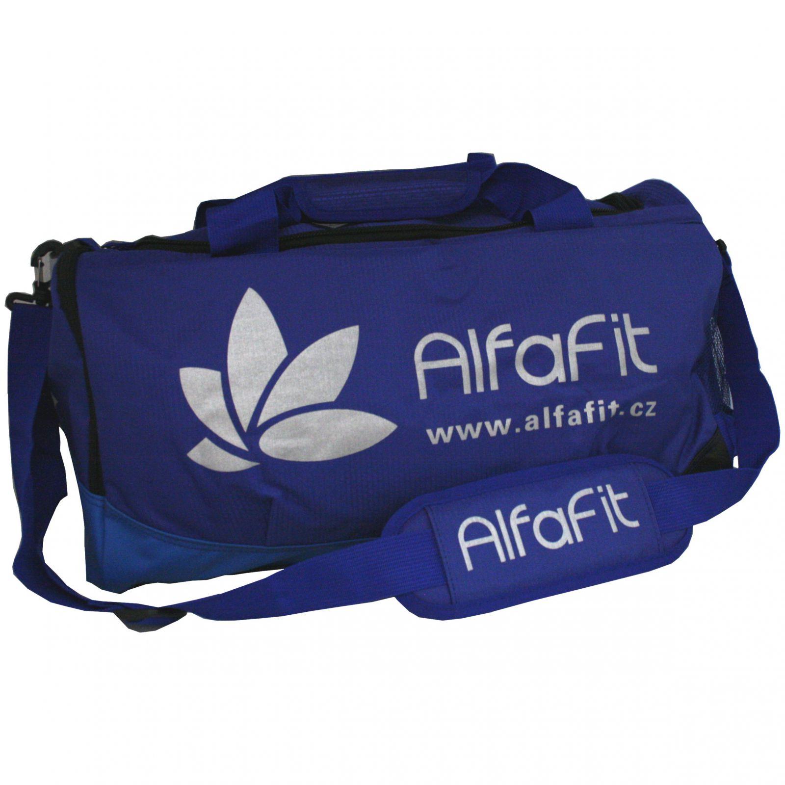 Sportovní taška Alfafit ─ modrá