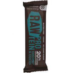 bombus Raw Proetin 20% 50 g - kokos & kakao