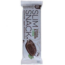 bombus Slim Snack 50g - kakao & chia