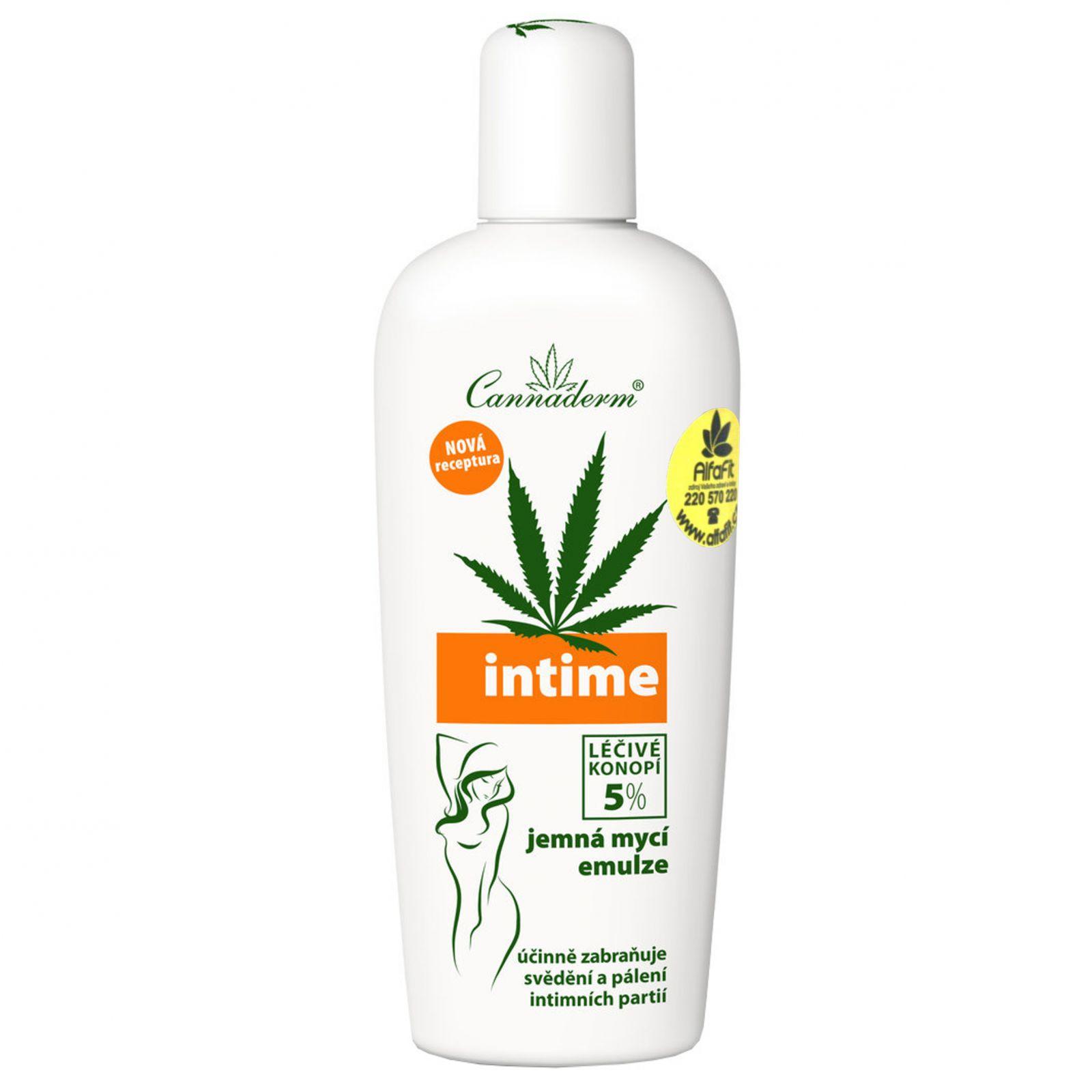 Cannaderm Intime - emulze pro intimní hygienu 150 ml