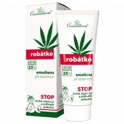 Cannaderm Robátko ─ greasing emollient for atopic eczema 75 g