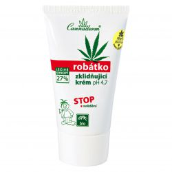 Cannaderm Robátko ─ soothing cream pH of 4.7 to relieve itching 50 g