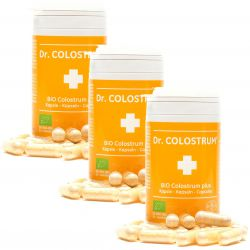 Colostrum BIO CAPSULES SET 3 x 60 cps