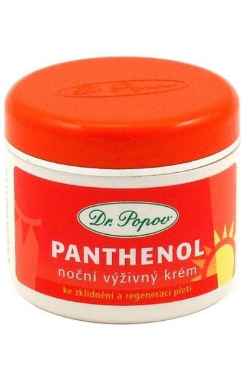 Dr. Popov Panthenol noční výživný krém 50 ml