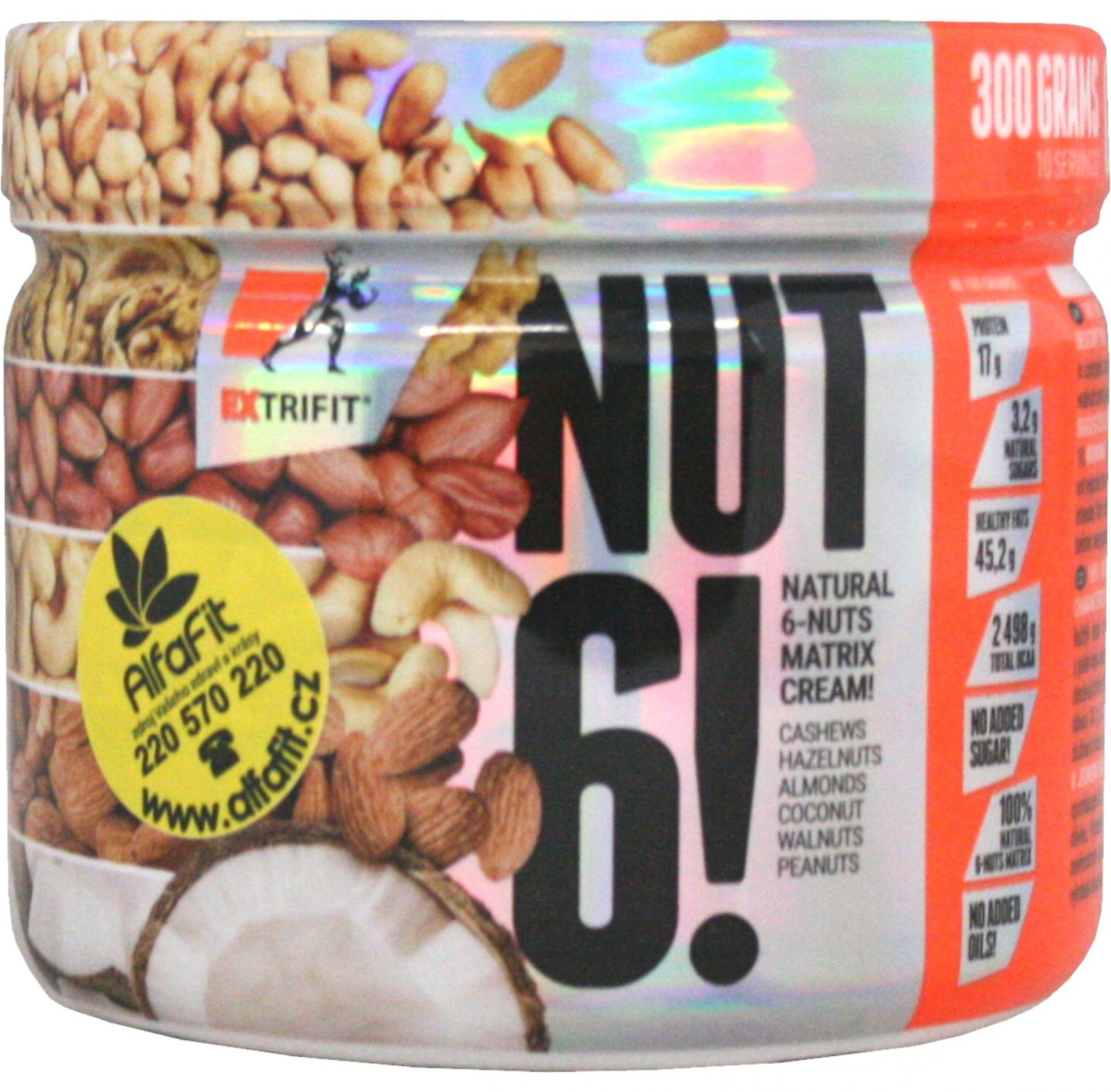 Extrifit nut 6! natural