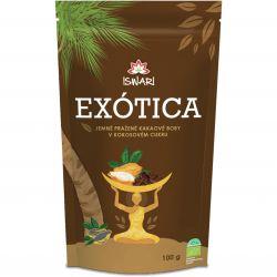 Iswari BIO Kakaové boby v kokosovém cukru 100 g
