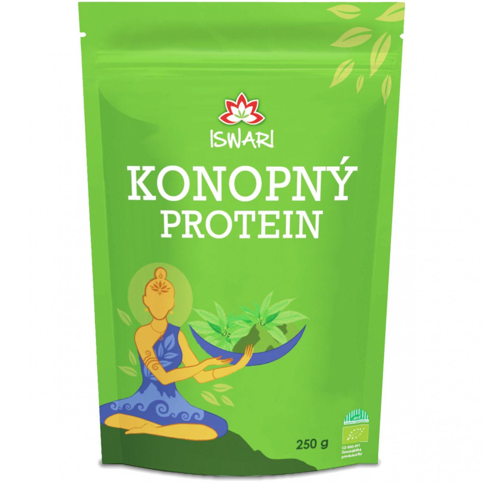 Iswari BIO Konopný protein (prášek) 250 g
