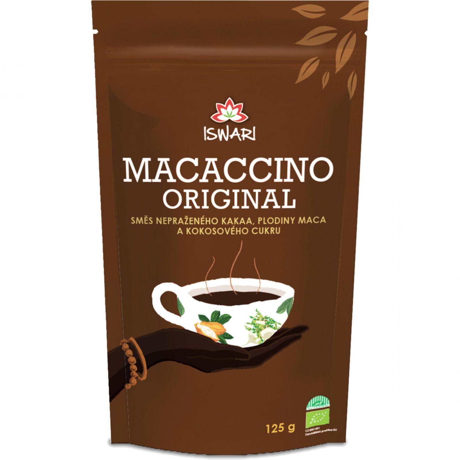 Iswari Maccacino original BIO 125 g