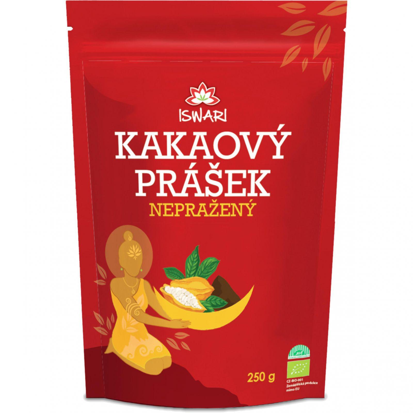 Iswari Nepražené kakao prášek 250 g