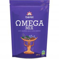Iswari BIO Omega Mix mletá směs 250 g ─ chia & hnědý len