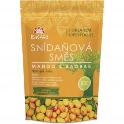 Iswari BIO Snídaňová směs 360 g ─ mango & baobab