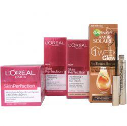 L'Oréal Paris Kosmetická sada Skin Perfection + tónovací krém & řasenka ZDARMA