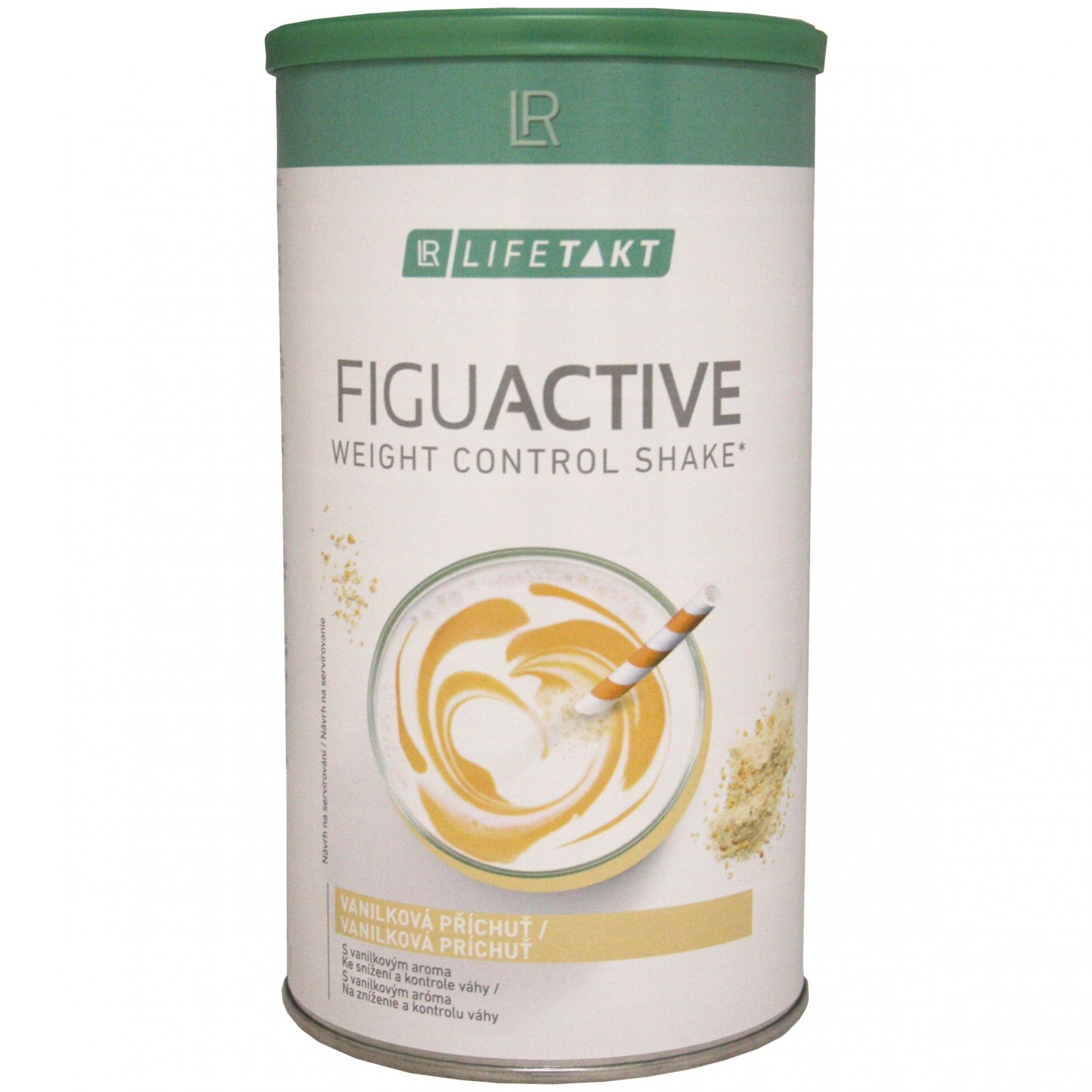 LR LIFETAKT Figu Active koktejl 450 g - příchuť vanilka