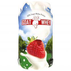 LSP Nutrition Goat Whey 600 g - příchuť jahoda