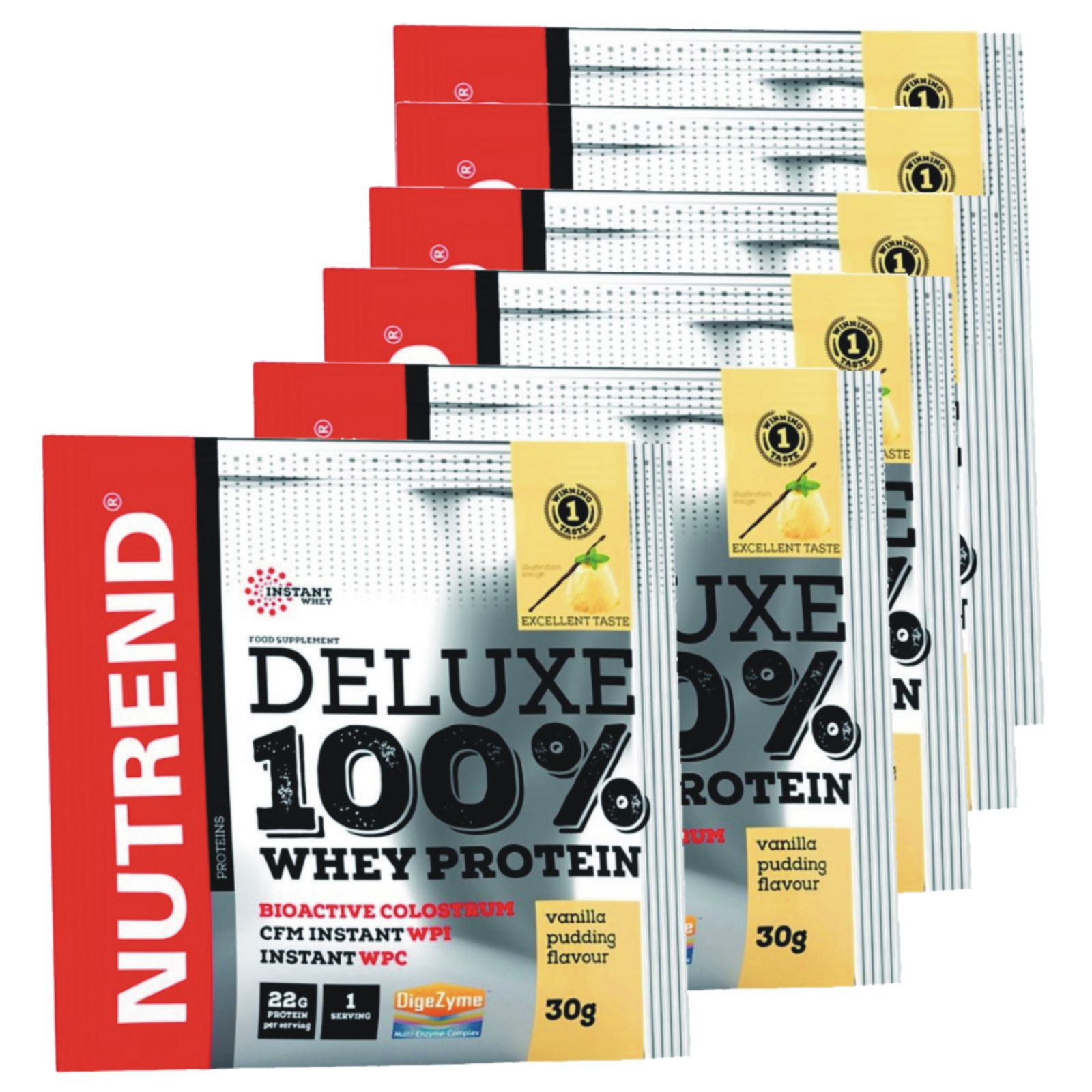 Nutrend Deluxe 100% Whey 20 x 30 g