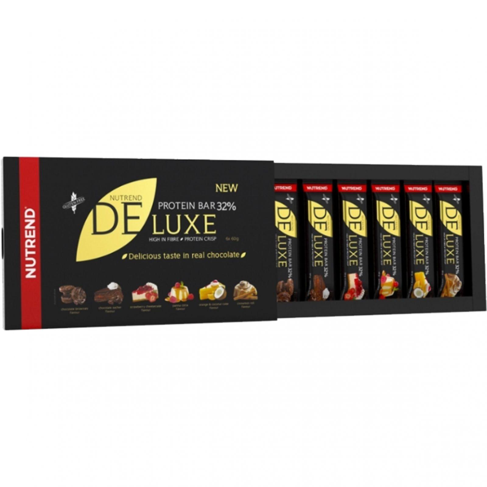Nutrend Deluxe Protein Bar - dárkové balení 6 x 60 g - mix příchutí