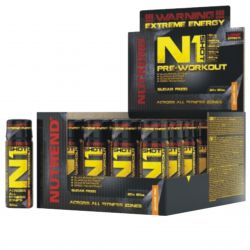 Nutrend N1 Shot 20 x 60 ml orange fire