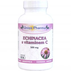 Unios Pharma Echinacea mit Vitamin C 500 mg – 60 Tabletten