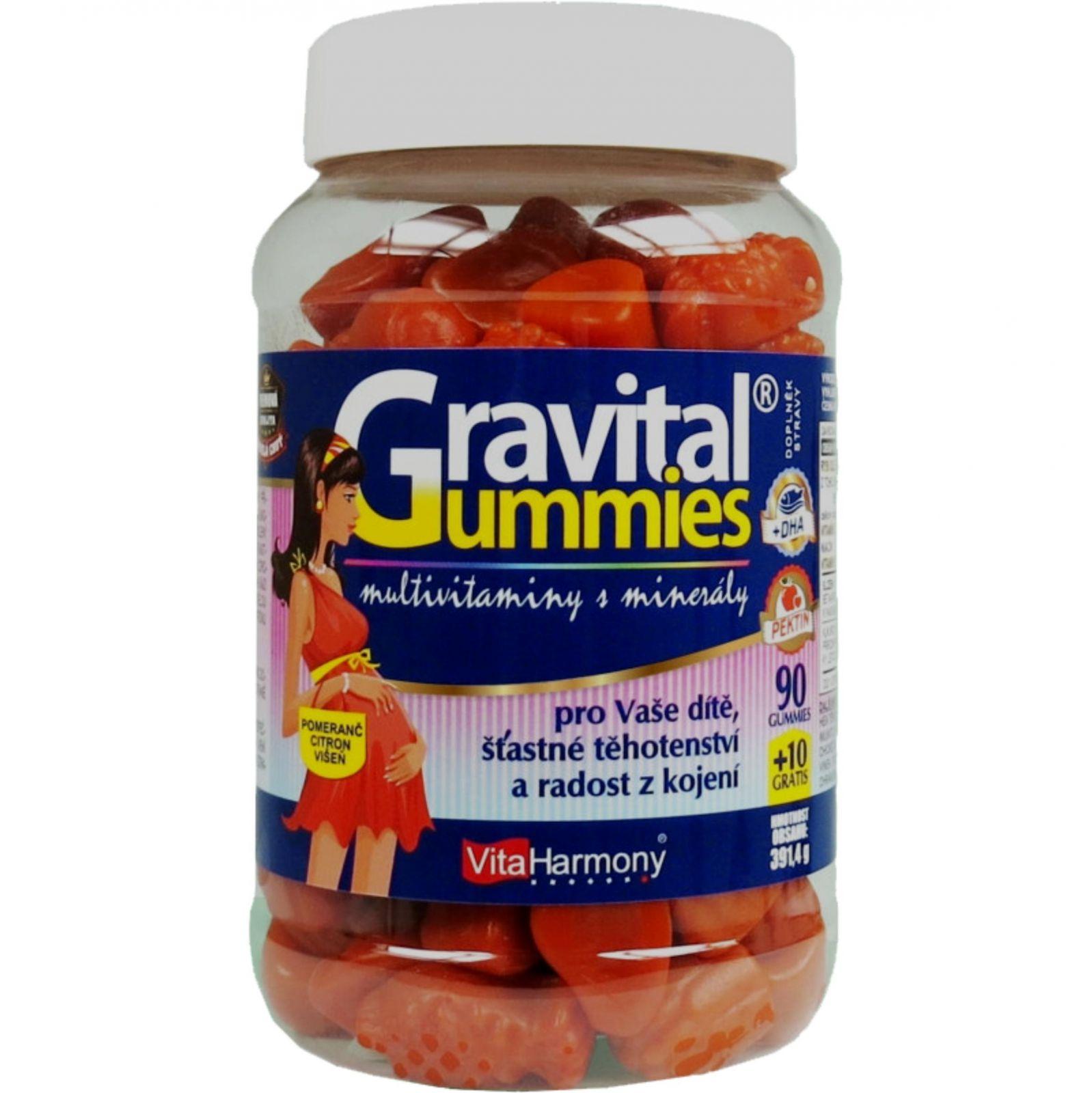 Gravital Gummies 100 kusů
