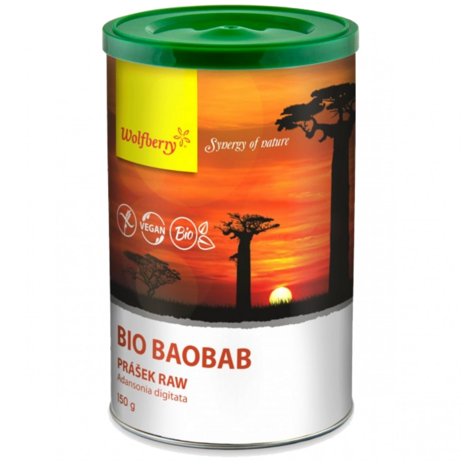 Wolfberry BIO Baobab prášek RAW 150 g