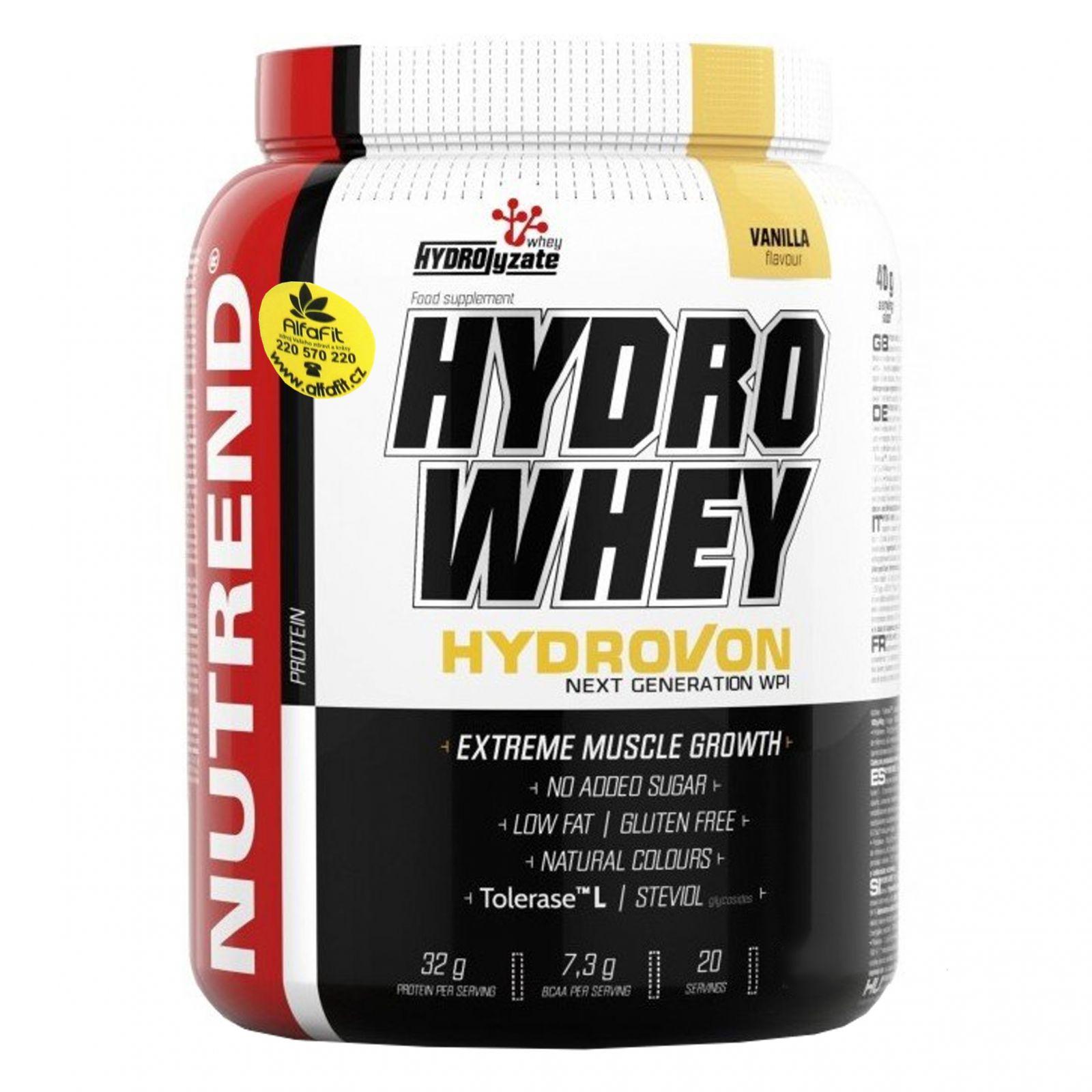 Nutrend HydroWhey 800 g vanilka