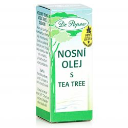 Dr. Popov nosní olej s Tea tree oil 10 ml