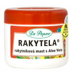 Dr. Popov Rakytela ─ Seabuckthorn ointment with Aloe Vera 50 ml