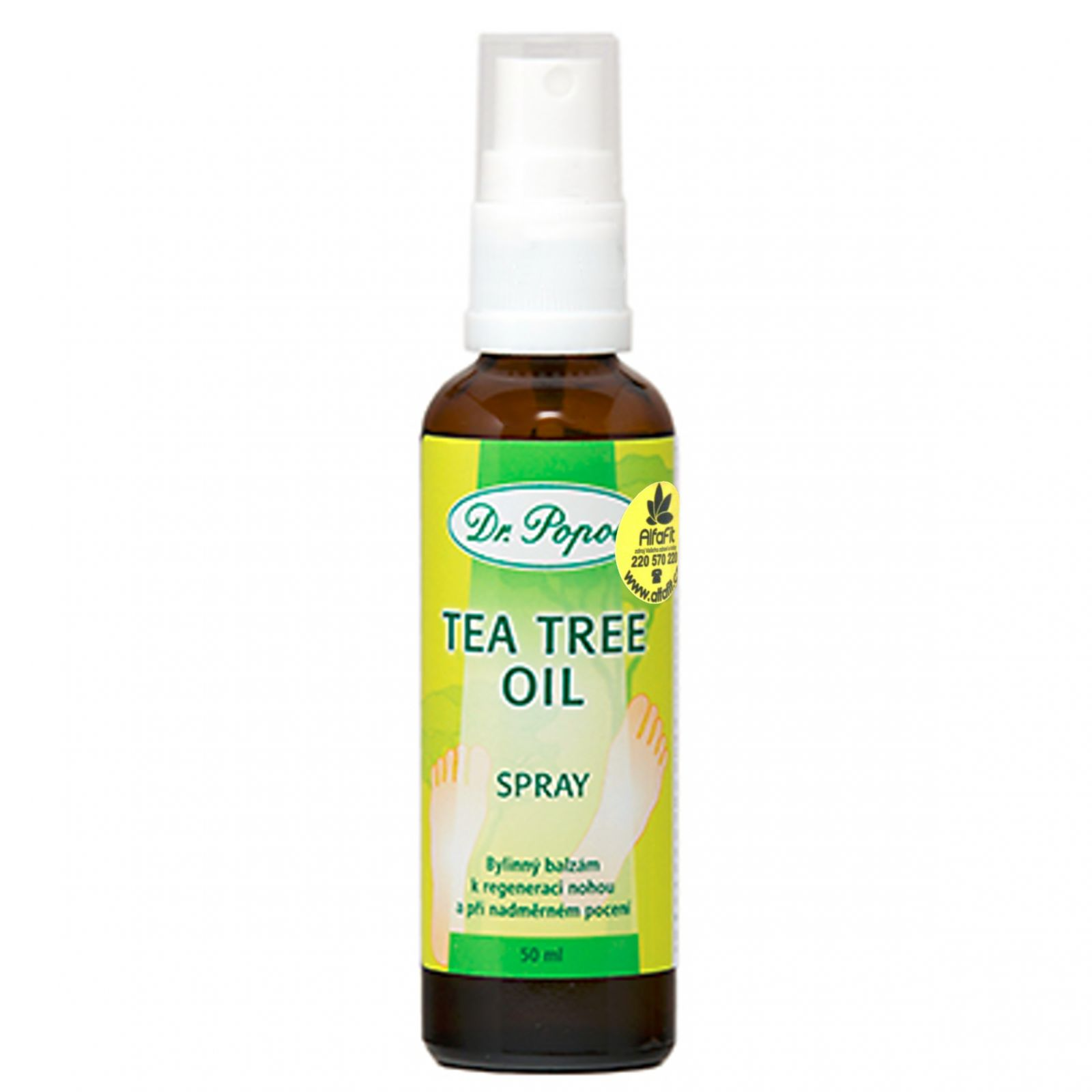 Dr. Popov tea tree spray 50 ml