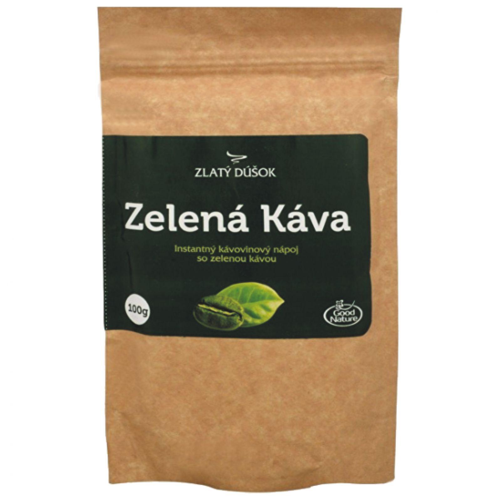 Good Nature Zlatý doušek Zelená káva 100 g