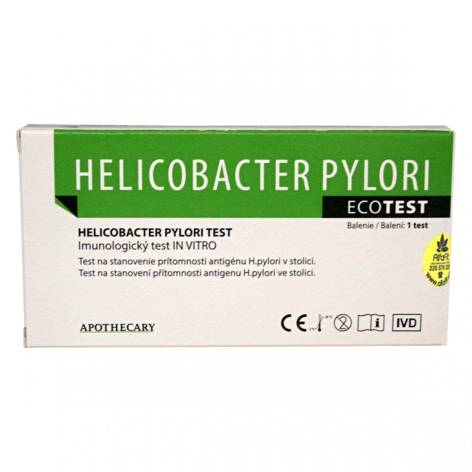 Helicobacter Pylori ecotest
