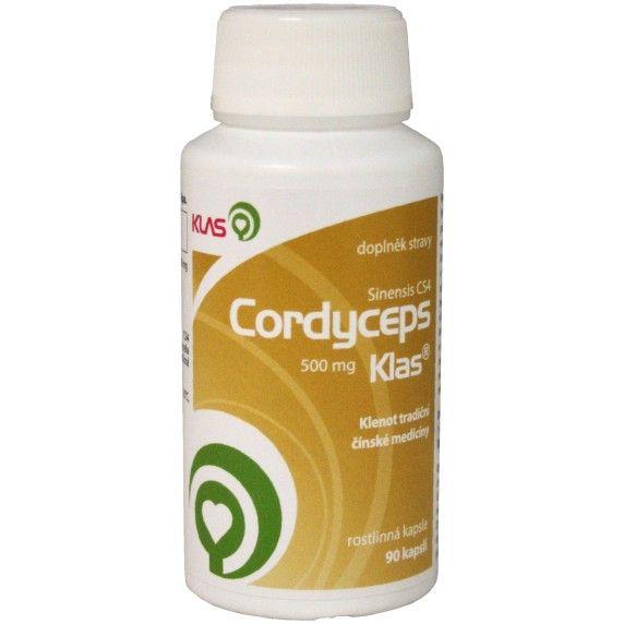 Klas Cordyceps sinensis CS4 500 mg - 90 kapslí