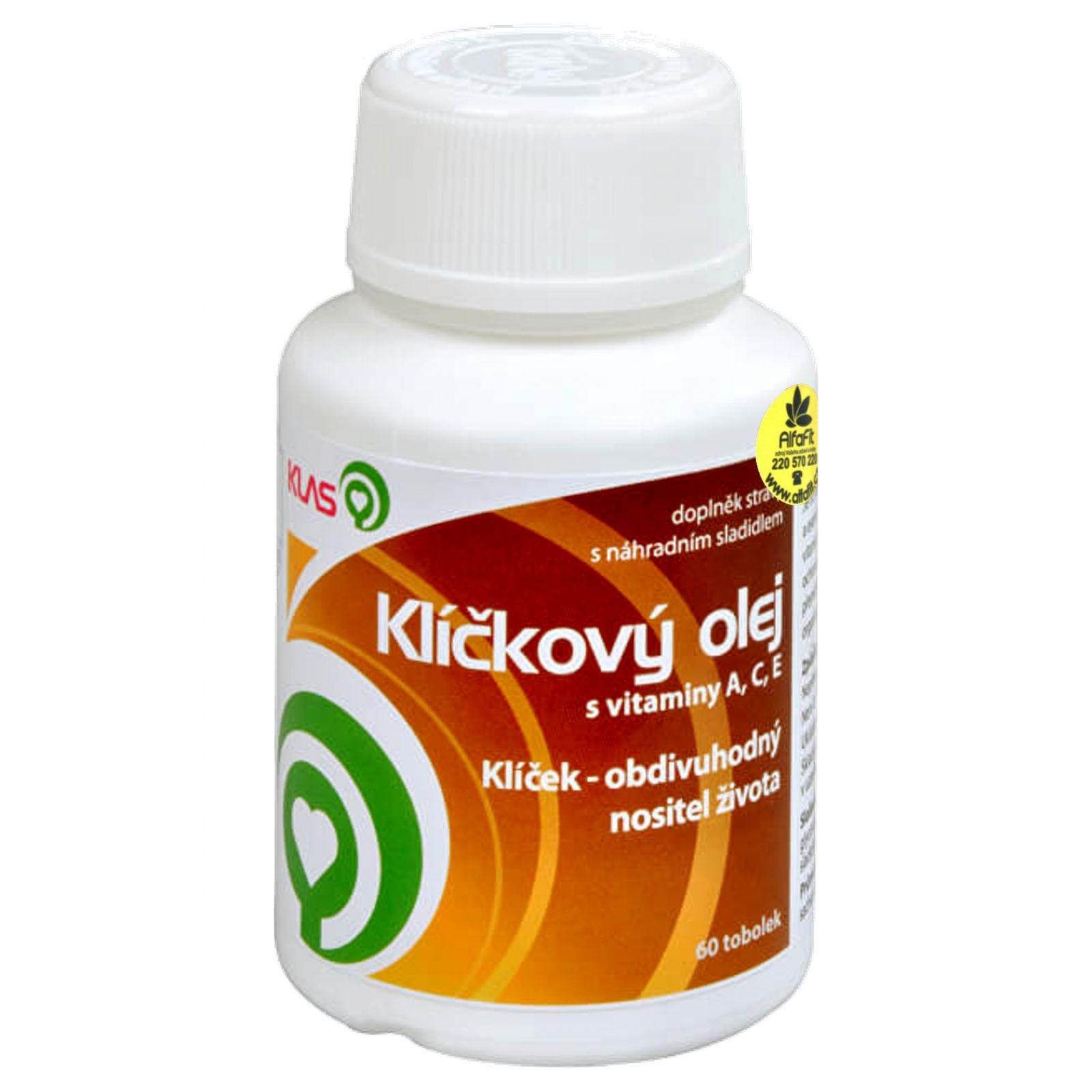 Klas Klíčkový olej s vitamíny A, C, E 60 kapslí