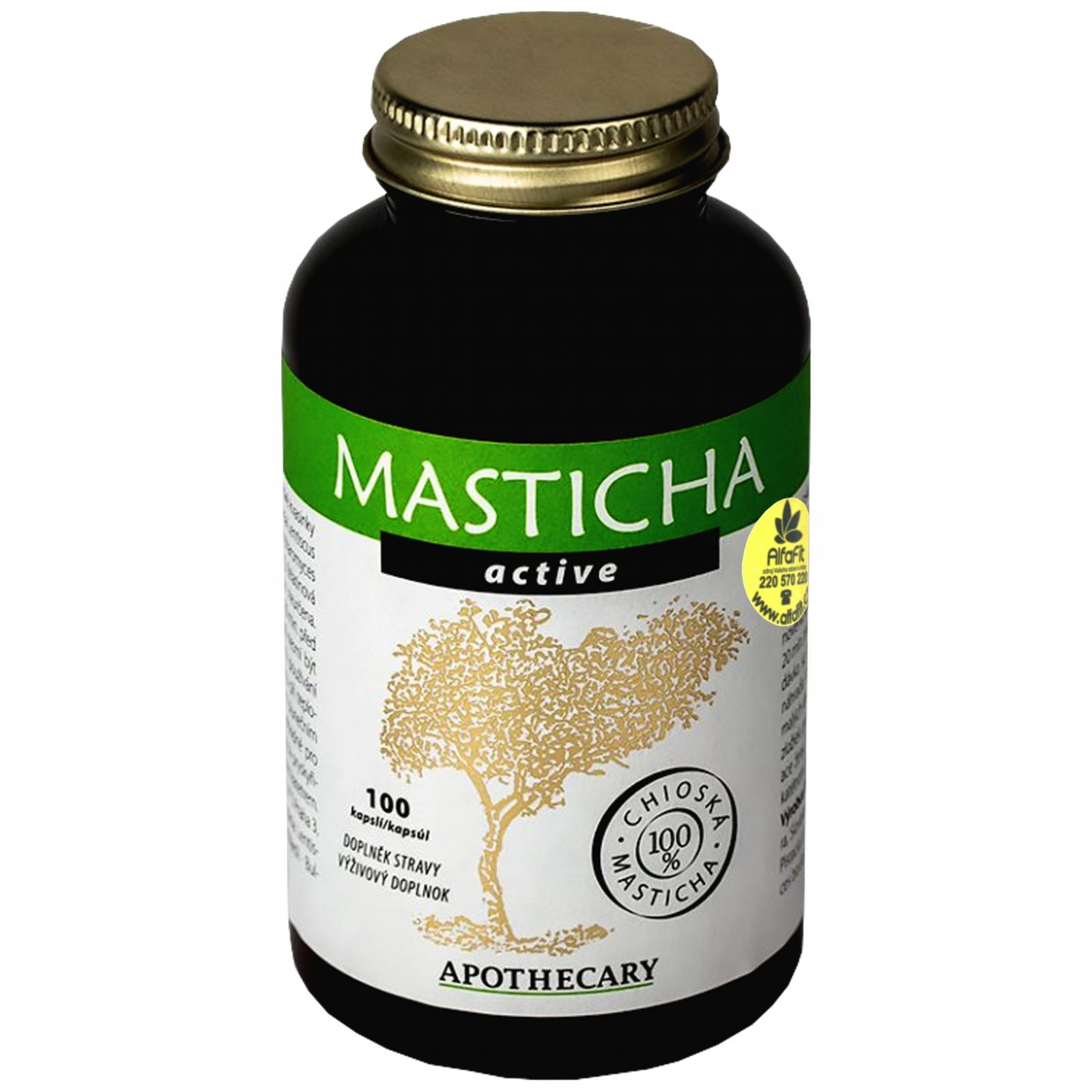 Masticha Active 100 kapslí