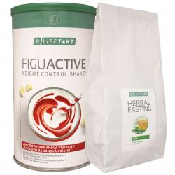 REDUKČNÍ SADA II. - LR LIFETAKT Figu Active koktejl 450 g + LR LIFETAKT Figu Active Bylinný odtučňovací čaj 250 g