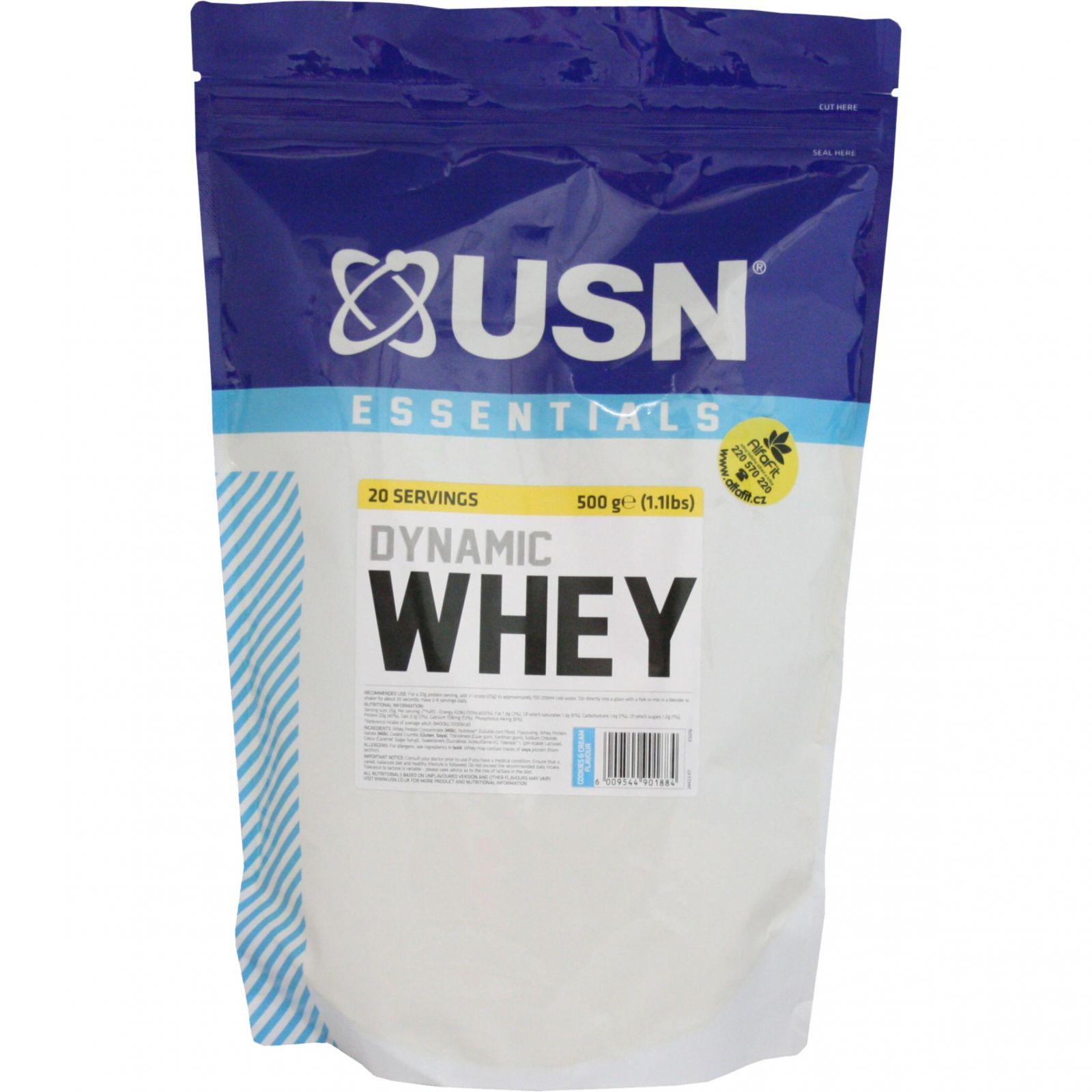 USN Essential Dynamic Whey 500 g
