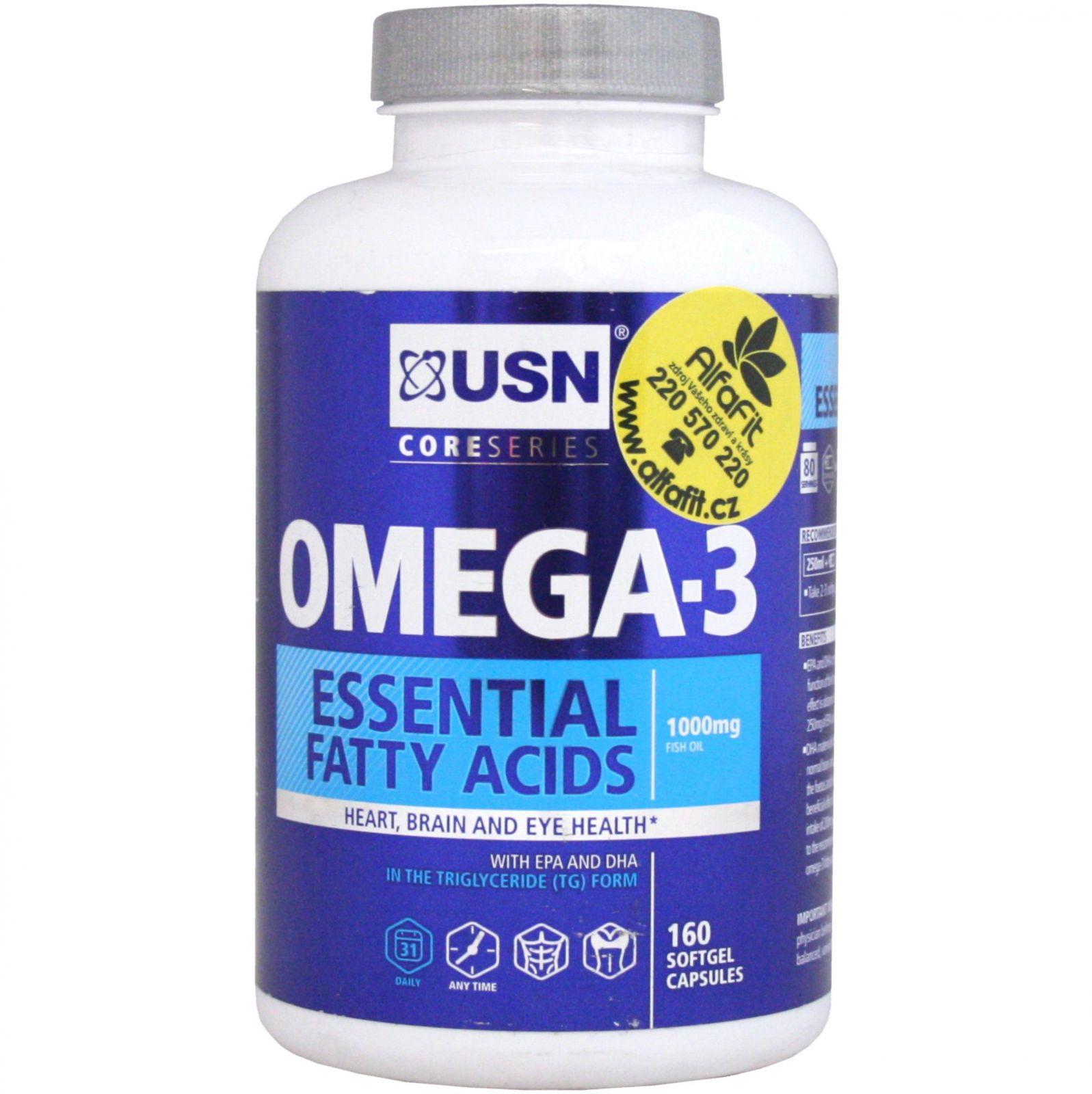USN Triple Omega EFA 160 kapslí