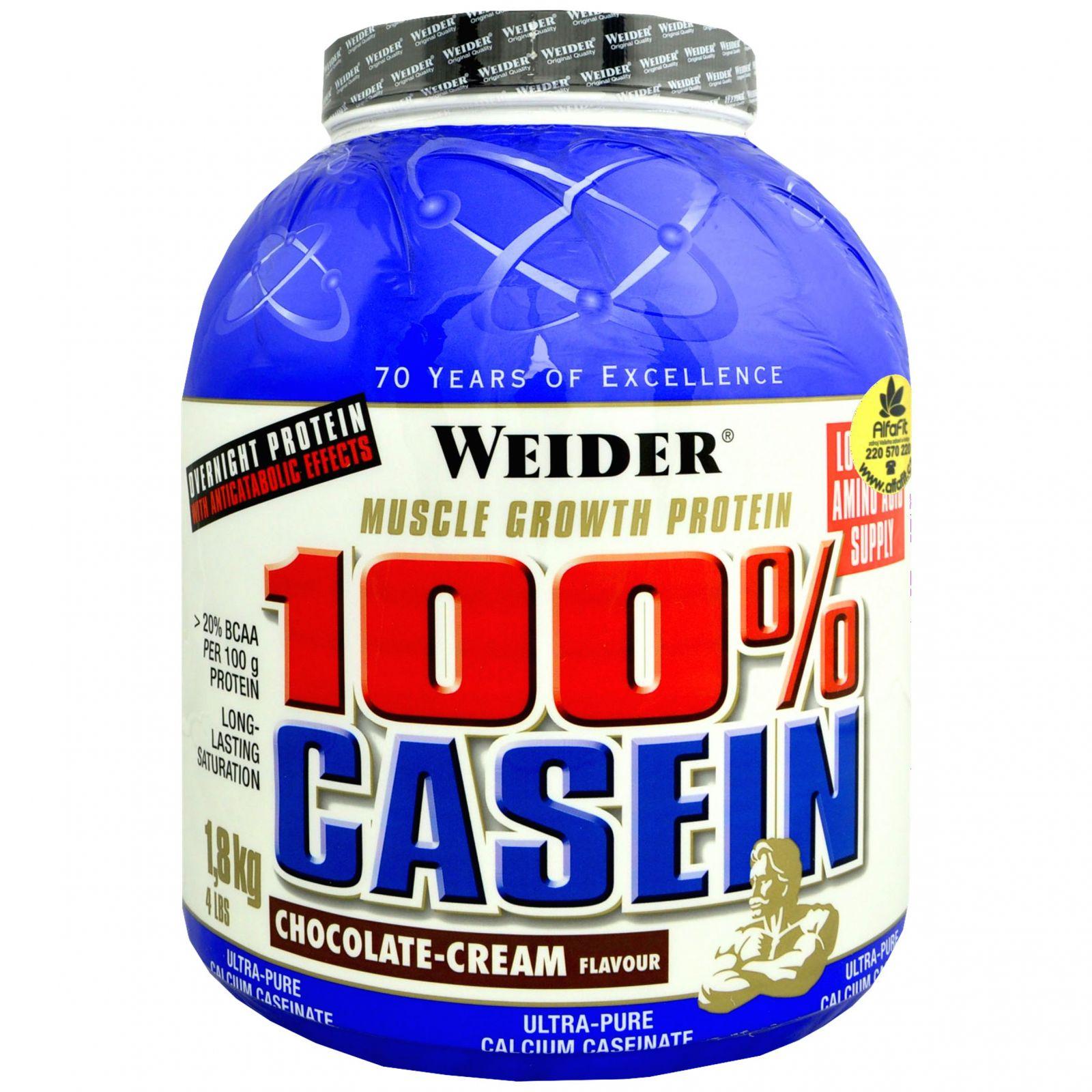 Weider 100% Casein 1800 g