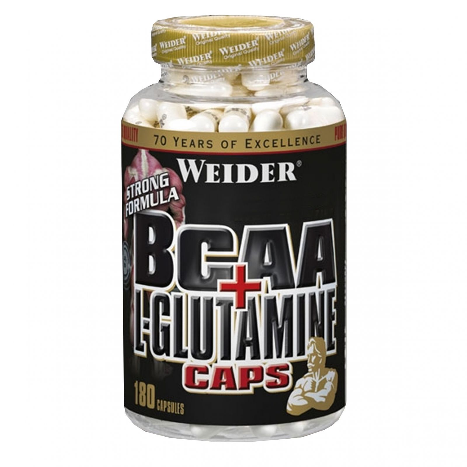 Weider BCCA + L-Glutamine 180 tablet