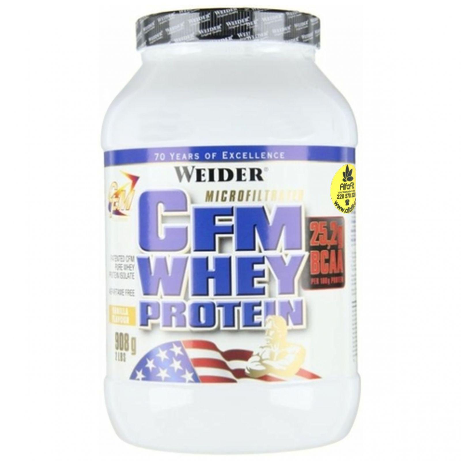 Weider CFM Whey Protein 908 g