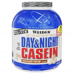 Weider Day & Night Casein (100% Casein) 1800 g + doprava ZDARMA