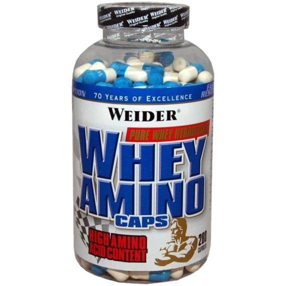 Weider Whey Amino 280 kapslí