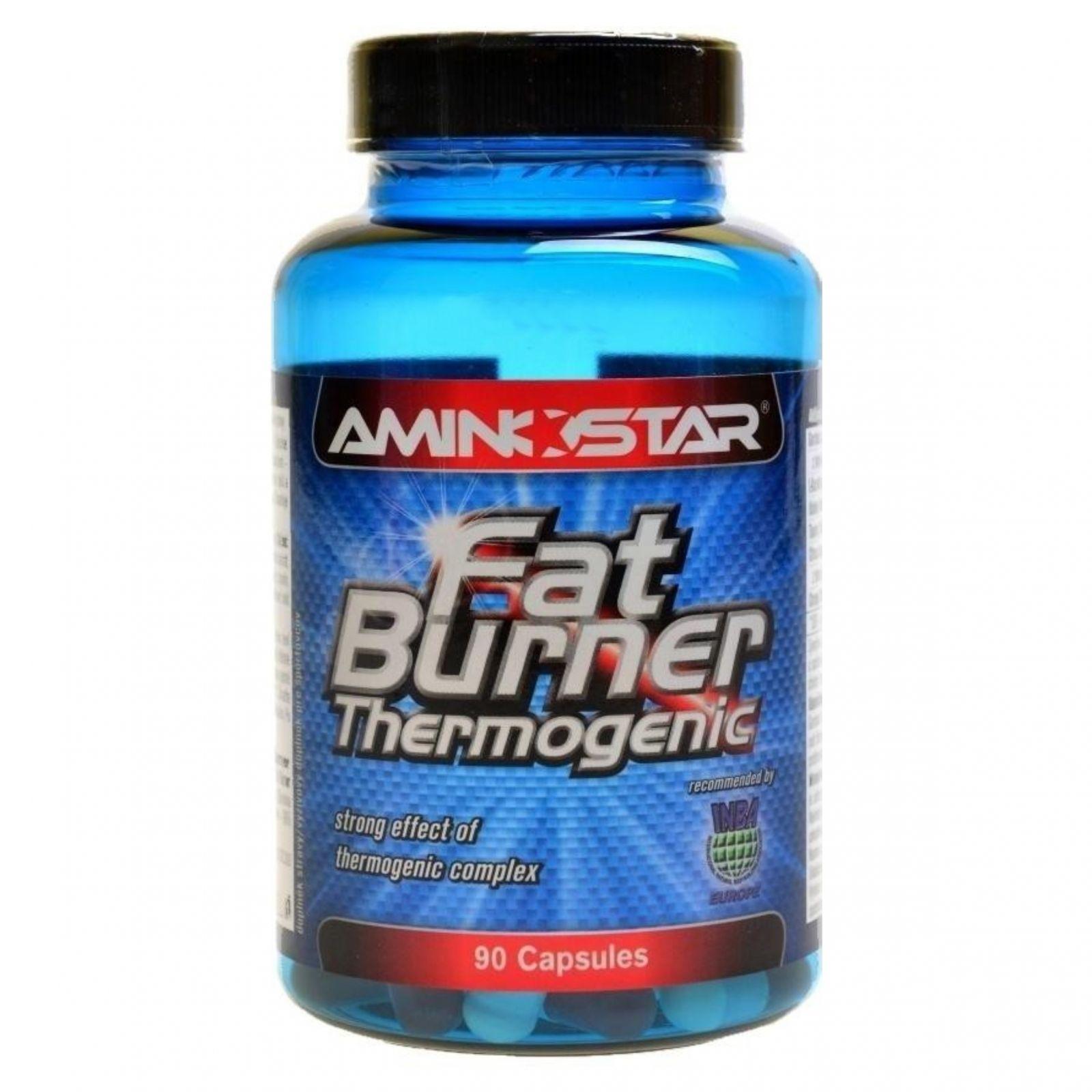 AMINOSTAR FatBurner Thermogenic 90 kapslí