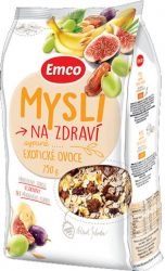 Emco Mysli na zdraví sypané exotické ovoce 750g