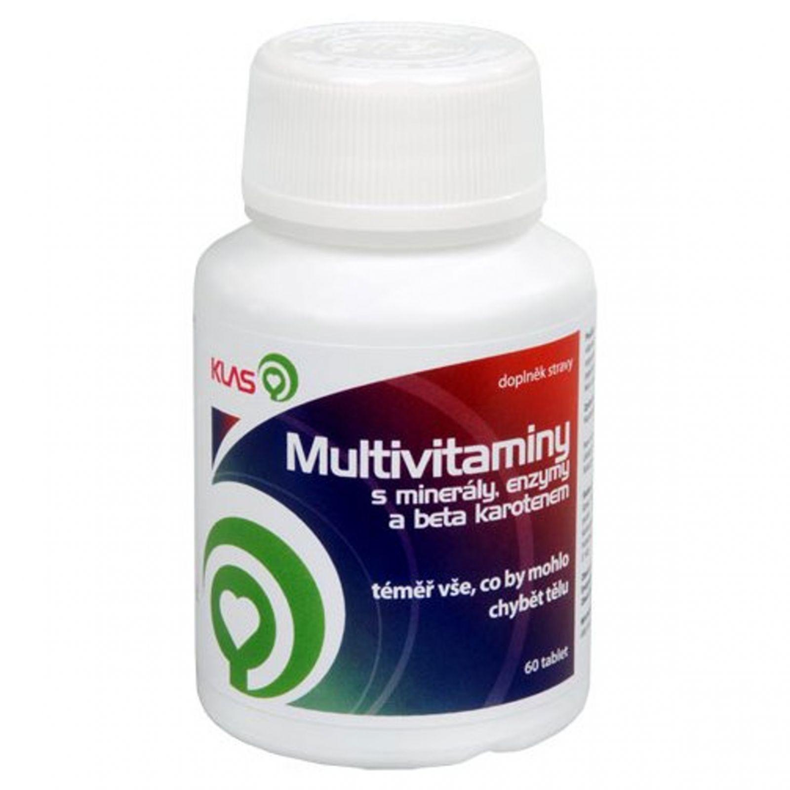 Klas Multivitamín kapsle 60 tablet